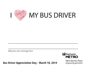 I heart my bus driver