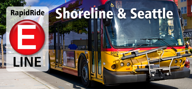 RapidRide E Line coming to Shoreline and Seattle