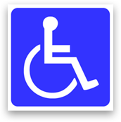 International Access Symbol Sticker