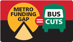 Metro's funding gap equals bus cuts