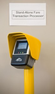 Photo of Stand Alone Fare Transaction Processer (SAFTP).