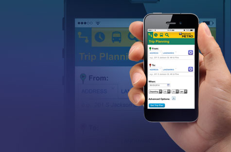 Introducing the mobile Trip Planner