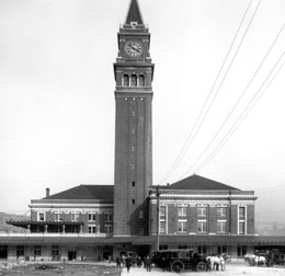 Photo of the King Street Station, 1906