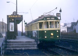 Photo of Waterfront Streetcar, 1982