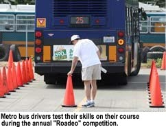 Photo: Roadeo competition