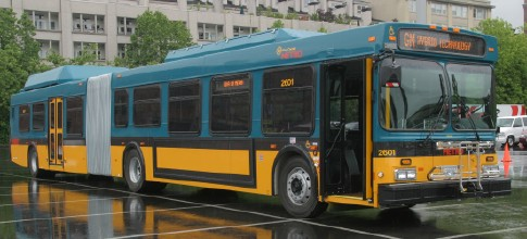 Hybrid Diesel-Electric Bus