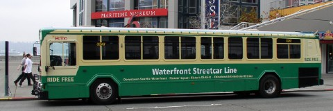 Waterfront Streetcar bus