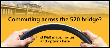 Commuting across the SR-520 bridge? Find P&R maps, routes, and options here.